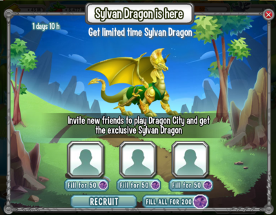 Sylvan Dragon April 2014