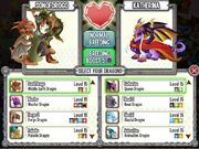 DCW Breeding - Game Menu