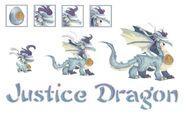 Justisce dragon evo