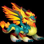 Glowppy Dragon (Ancient World) 2