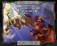 Arcangel vs cerberus