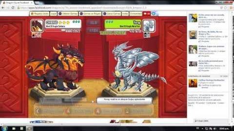 Dragon city meteor dragon