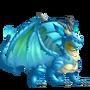 Aquamarine Dragon 3
