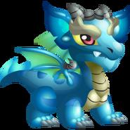 Aquamarine Dragon 1