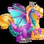 Rapunzel Dragon 3