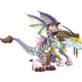 White Alien Dragon 3