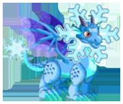 Snowflake Dragon 2