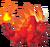 Flaming Rock Dragon 3