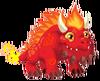 Flaming Rock Dragon 2