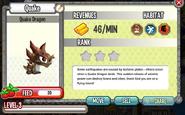 Dragon City - Quake Dragon lvl 3 on 5-14-14