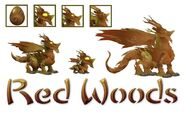 Red woods dragon evo