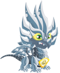 Pure Metal Dragon 3 Egg