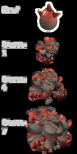 Dark Stone Dragon