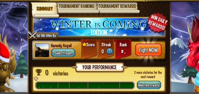 Tournament winter