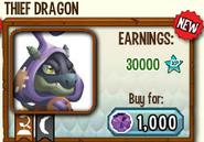 Thief dragon