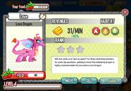 Love Dragon at level 4