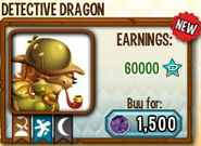 Detective Dragon in Store