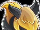 Feuerwolf-Drache