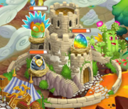 Carnival legendary and pure metal egg in hatchery