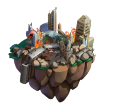 Cataclysm Maze Island