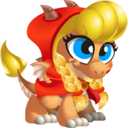 Little Red Riding Hood Dragon 1