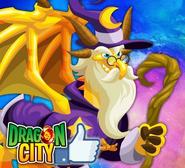 Wizard Dragon ike