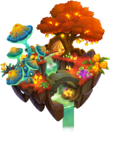 Ever-Autumnal Forest Island