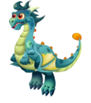 Tiny Dragon 3d