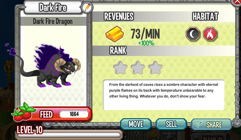 Dark Fire Dragon Box