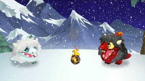 White Christmas in Dragon City!