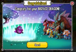 Congratulations BigFace