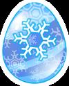 Huevo Copo de Nieve