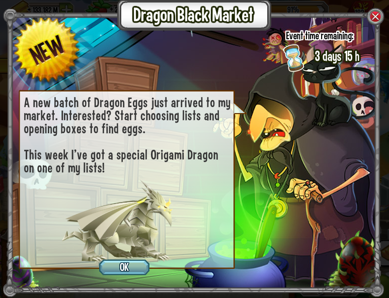 Image Origami Returns Marketg Dragon City Wiki Fandom