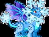 Dragón Copo de Nieve