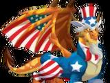 Uncle Sam Dragon