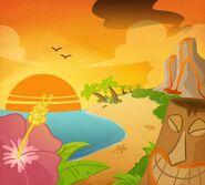 Hawaiian illustration-0