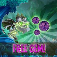 Free gem