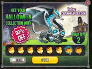 Chanimal Dragon Halloween Collecton