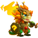 Forest Servant Dragon (F) 3