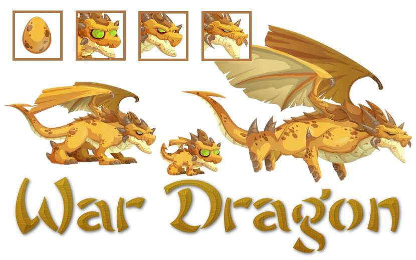 how to breed a war element dragon in dragon city