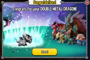 Congratulations Double Metal
