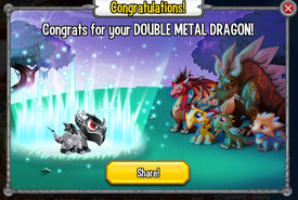 Congratulations Double Metal