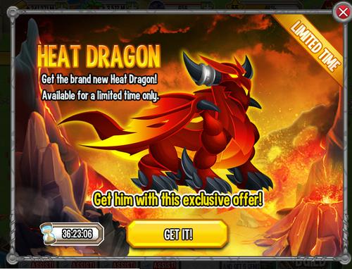 Heat Dragon Offer