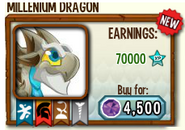 Millenium Dragon in store