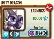 Unity Dragon in store