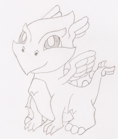 File:409px Light Dragon Baby.png