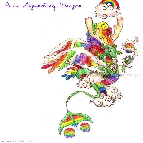 Pure legendary dragon