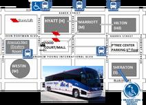 Bus plus habitrails