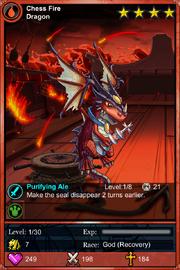 Chess Fire Dragon