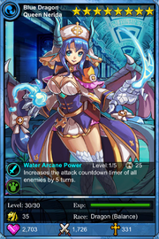 Blue Dragon Queen Nerida